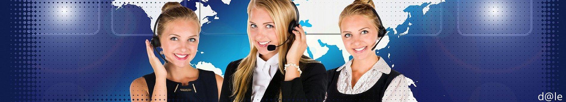 Telefonistas, recepcionistas, atención a cliente